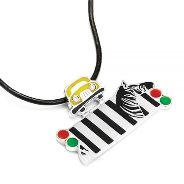 Wisior Zebra dla pieszych, II miejsce w konkursie Ząoto i srebro w rzemioėle 2015_RGB
